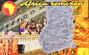 Accra, Collage, 2014