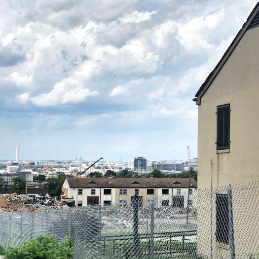 Barry Farm Demolition