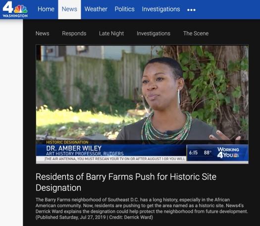 Barry Farm NBC